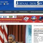 Cobertura do website Jornal dos Sports USA