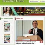 Brazilian Times - destaque na imprensa