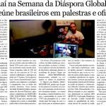 Materia no Jornal dos Sports USA ed 1993 24-30out 2014